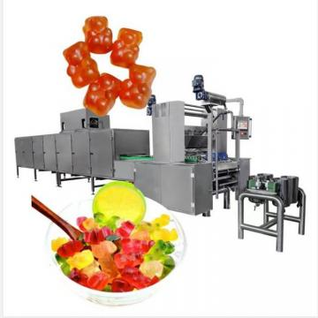 Automatic Gummy Square Making Machine Fruit Flavor Gummy Jelly Candy Production Line Forming Machine Manufacturer
