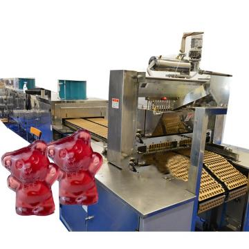 PLC control automatic central- filled soft candy jelly gummy bear machine