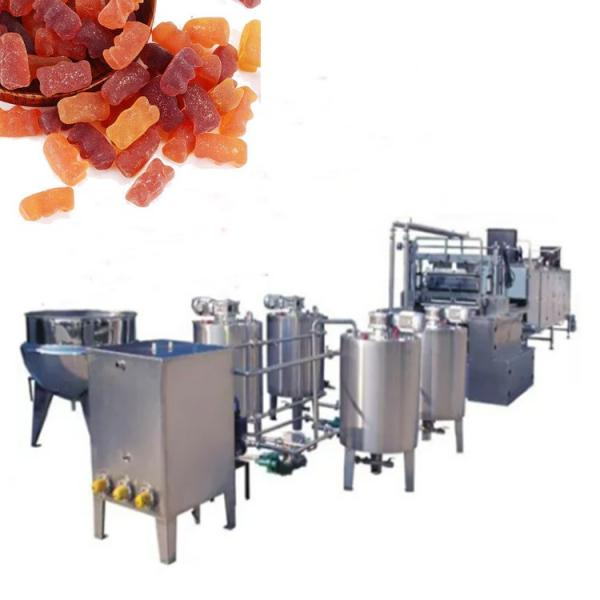 Jelly Bear Gummy Candy Jelly Candy Depositing Machine with Lower Price