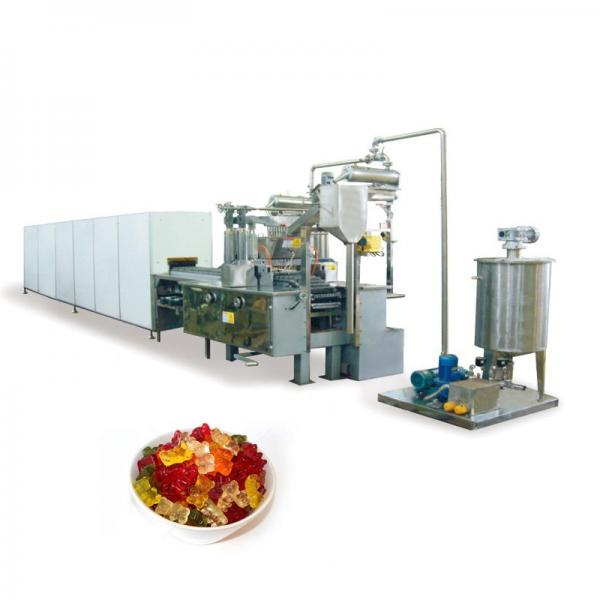 Advance payment gummy bear machine jelly candy making machine for sale